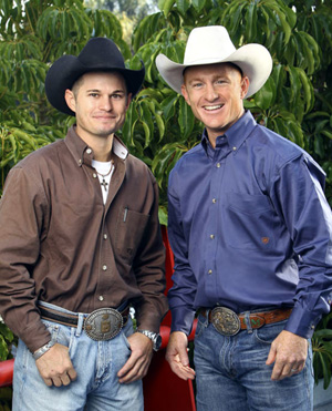 "Jet, left, and Cord McCoy will be part of Season 18 of ""The Amazing Race: Unfinished Business."" The Oklahoma brothers finished second in Season 16 of ""The Amazing Race"" and return to chase the $1 million first-place prize. (CBS-TV PHOTO)"