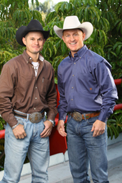 Jet and Cord McCoy. Photo by Monty Brinton/CBS ©2010 CBS Broadcasting Inc.