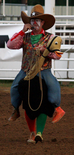 Gizmo McCracken will be sharing his comedic wit with the great fans who will take in the Lea County Fair and Rodeo, with four performances set for 7:30 p.m. Wednesday, Aug. 10-Saturday, Aug. 13, at Jake McClure Arena in Lovington, N.M. (TED HARBIN PHOTO)