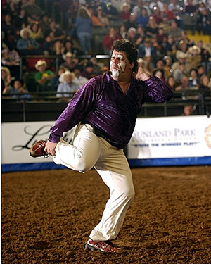 Cody Sosebee will be the one of the great pieces of entertainment at this year's American Royal Rodeo, set for Sept. 28-30 at Hale Arena at the American Royal Complex.