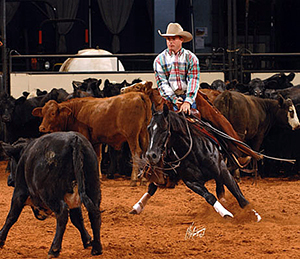 The cutting horse competition at the American Royal takes place Wednesday-Friday at Hale Arena. (BORROWED PHOTO)