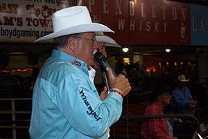 Charlie Throckmorton has been one of the best announcers in ProRodeo for decades, having called some of the biggest events in the sport. He'll be on hand in Bridgeport, Texas, to announce the Butterfield Stage Days PRCA Rodeo, set for May 10-11.