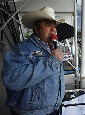 Andy Stewart is the announcer at the Parker County Sheriff's Posse Frontier Days and PRCA Rodeo and has held that title for eight years. He's had a front-row seat for all the great action in Weatherford, Texas.