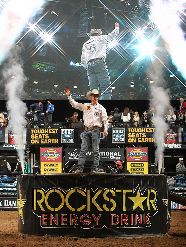 """Cord McCoy has long been considered the fan favorite on the Professional Bull Riding tour. An accomplished cowboy, McCoy has excelled at just about everything he has done, from riding bulls and bucking horses to being an international reality TV star on two seasons of """"The Amazing Race."""" He is retiring from bull riding. (ANDY WATSON PHOTO)"""
