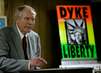 Fred Phelps was the longtime leader of Westboro Baptist Church, an organization best known for hateful messages regarding homosexuality. Phelps died last week. (PHOTO FROM GAWKER.COM)