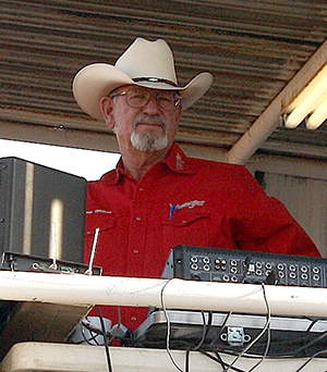 Lanny Wilson has been a key volunteer for the Guymon Pioneer Days Rodeo for several years. He is one of many who helps make the annual rodeo such a successful event.