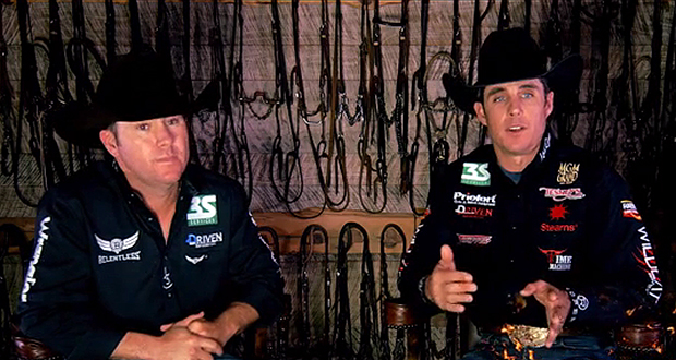 Trevor Brazile and Patrick Smith announced their return to a team roping partnership Monday through a video from Spin to Win Magazine. You can watch the announcement, along with the word about an upcoming video, by clicking HERE. (SCREEN CAPTURE FROM SPIN TO WIN MAGAZINE'S VIDEO POST)