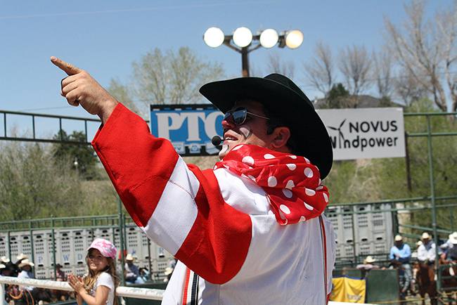 Cody Sosebee will be on hand to entertain the fans at the inaugural Claremore's Extreme Roughstock, which takes place Saturday at the Claremore Expo Center.