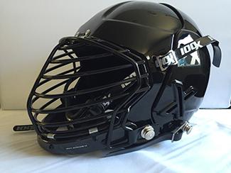 The 100X Alpha helmet.