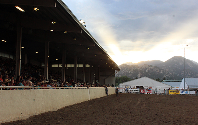 The Town of Estes Park has invested in new ground for Granny May Arena, which should make for better footing for Rooftop Rodeo in July.