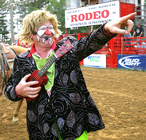Gizmo McCracken will provide the comedy during this year's Lea County Fair and Rodeo in Lovington, N.M. (COURTESY PHOTO)