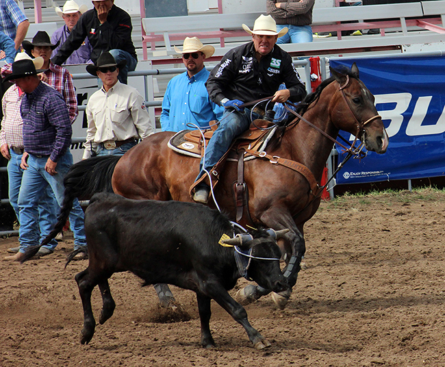 Trevor Brazile, the only 23-time world champion in ProRodeo history, is expected to be one of hundreds of contestants competing at Dodge City Roundup Rodeo.