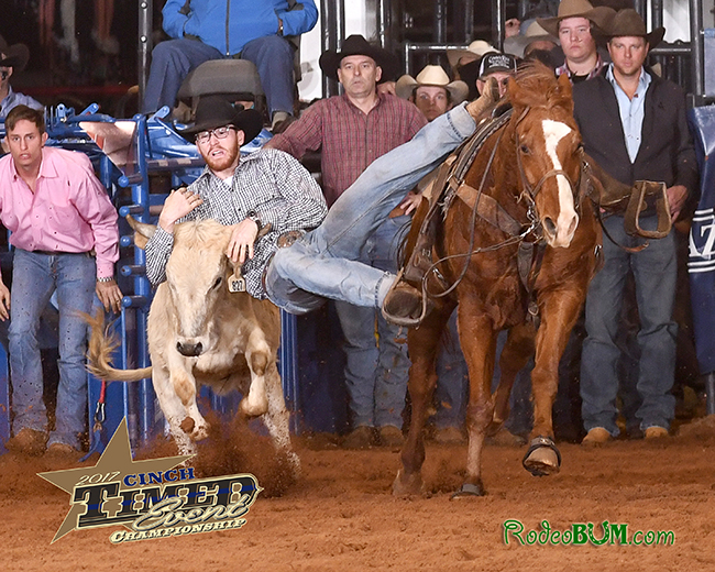 Reigning champion Bo Yaussi is scheduled to be one of 10 young cowboys that will be part of the 2018 Jr. Ironman Championship in March. (JAMES PHIFER PHOTO)