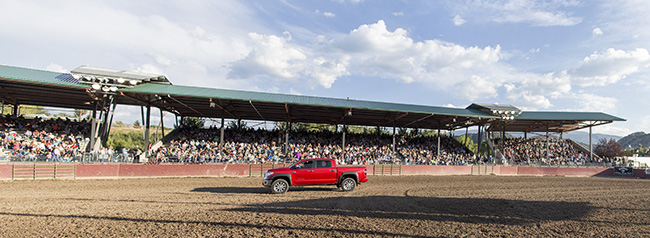 A packed house crowded in for each performance of the 2017 Eagle County Fair and Rodeo, which has been nominated for medium rodeo of the year nationally and in the Mountain States Circuit. (TODD BREWER PHOTO)