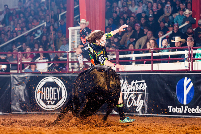 Schell Apple will be one of the top men in Bullfighters Only competing at the Las Vegas Championship, set for Dec. 7-10 and 13-16 at the Tropicana Casino and Resort. (TODD BREWER PHOTO)