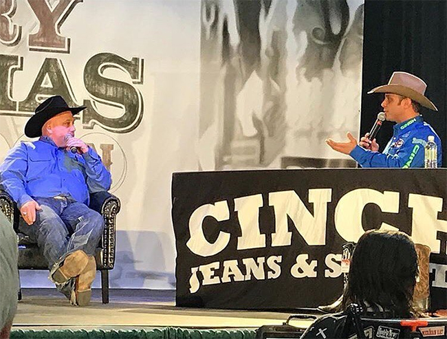 In addition to his Live with Lucia show, Anthony Lucia will have a packed schedule in Las Vegas during the National Finals Rodeo. He kicks it off Tuesday as the emcee for the NFR Welcome Reception and Back Number Ceremony. (COURTESY PHOTO ANTHONY LUCIA)