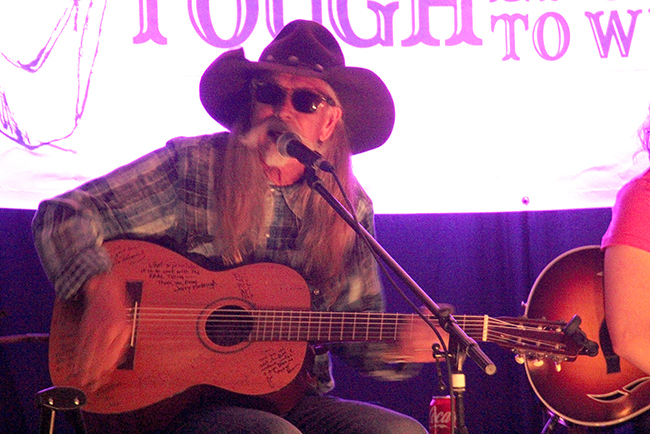 Legendary songwriter Dean Dillon is always the headline act for the Cattlemen's Days Tough Enough to Wear Pink Songwriter Concert and Auction, which will take place Tuesday, July 10, in Mt. Crested Butte, Colo. It is the largest fundraiser of the year for Gunnison's pink campaign.