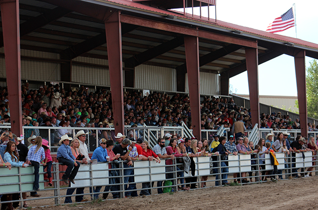 A large crowd is expected during the three performances of the Gunnison Cattlemen's Days PRCA Rodeo. Cattlemen's Days serves as a tip of the hat to the ranching history in the Gunnison Valley.
