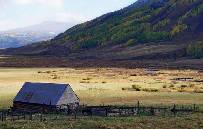 The Trampe family completed the last of three conservation easements in April 2018. The Trampe Ranch has been family owned for more than 100 years. (PHOTO COURTESY OF THE GUNNISON RANCHLAND CONSERVATION LEGACY)